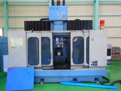 日本二手机床/大阪机工OKK/立式加工中心TRC800W/1996年